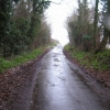 Rural lane near Wangford