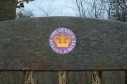 The Yelford Queen's Golden Jubilee bench