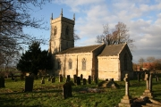 St.Andrew's church, Boothby Graffoe, Lincs.