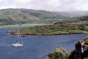 Approaching Croabh Haven