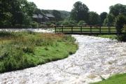 The Lyvennet river in full flow