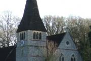 Detail of North Holmwood Church