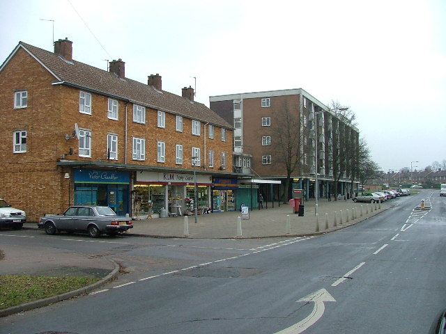 Grange Shops And Post Office Pictures Of Letchworth Garden City In Hertfordshire Yourlocalweb