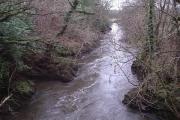 View from Henllan bridge