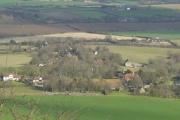 Alciston from Bostal Hill