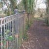 Old iron fencing