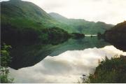 Reflections on Loch Eilt.