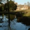 Lockinge Church, from Betterton Brook Bridge