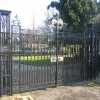 The Gates to the Jephson Gardens