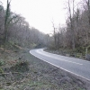 The Via Gellia as it snakes through Hopton Wood.