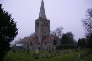 St Peter's Church at Field Broughton