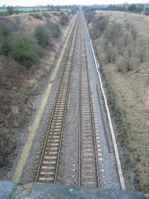 Railway cutting, close to Ardley nature reserve