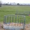 Straw feeder and field