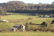 View over Twizling Farm