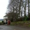 Hundall Lane, Hundall in NE Derbyshire