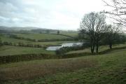 Farmland near Natland