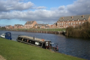 Homes on the Gloucester and Sharpness canal