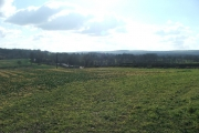 Looking south from Gallows Hill.