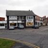 Shops at the corner of Bank Lane Warton