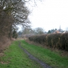 Bridleway off Rectory Road, Wanlip near Leicester