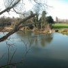 Weir on River Leam