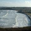 February easterly winds bring waves to Goodrington