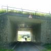 Underpasses under two arms of the M6