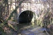 River Dean at Handforth Bridge