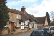 Inn and school, Bredon