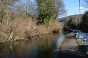 The Swansea Canal at Pontardawe