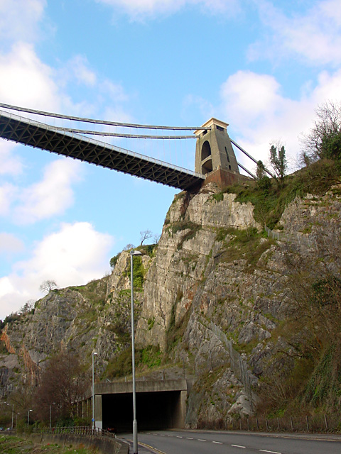 Clifton Suspension Bridge from the Portway