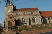 St. John the Baptist church, Pebmarsh, Essex