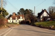 Village scene, Alphamstone, Essex