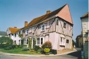Mediaeval house on High Street, Lavenham.