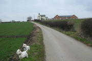 Glebe Farm  just north of Breadsall village