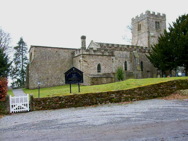 St Oswald Church, Hauxwell