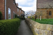 Lane by Gaydon Church