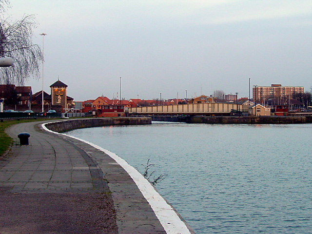 Cumberland Bridge and Cumberland Basin