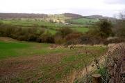View over Farmland nr Lydney
