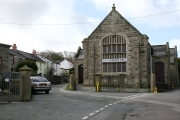 Lanner Church Hall and Terrace Houses