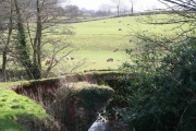 Langford Budville: old bridge at Lower Wellisford