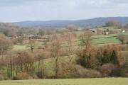 Stawley: the Tone valley near Kittisford