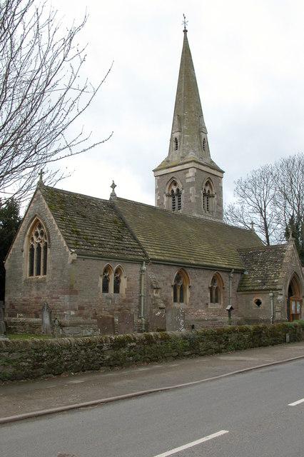 St Andrew's Church, Moreton on Lugg