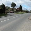 The B4349 passing through Clehonger