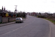 The main road in Brotherton