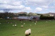 Farmland near Llandegla