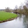 River Lugg at Wergins Bridge