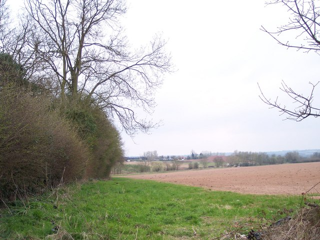 Manor Farm viewed from near Urdimarsh