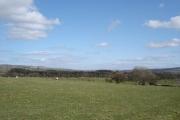 Farmland at Pentrefoelas