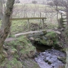 Footbridge near Allstone Lee